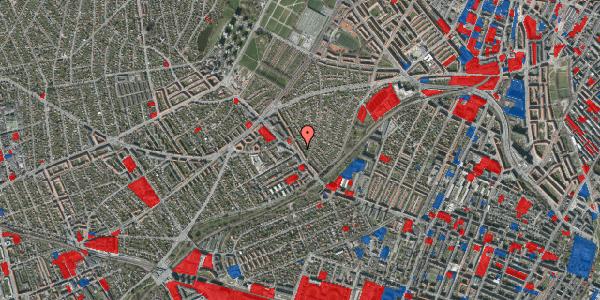 Jordforureningskort på Rønnebærvej 2, 1. th, 2400 København NV