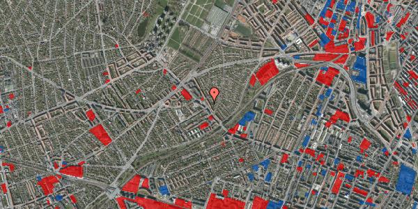 Jordforureningskort på Rønnebærvej 4, 1. th, 2400 København NV