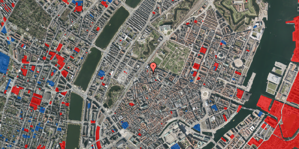 Jordforureningskort på Sankt Gertruds Stræde 8, st. th, 1129 København K