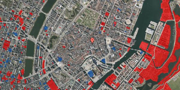 Jordforureningskort på Silkegade 1, st. 1, 1113 København K