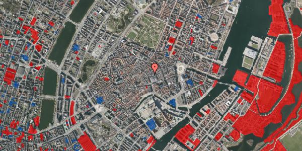 Jordforureningskort på Silkegade 3, 1. tv, 1113 København K