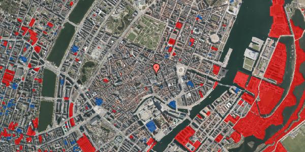 Jordforureningskort på Silkegade 7, 1. , 1113 København K