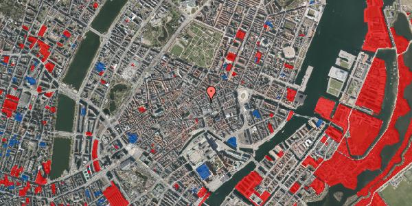 Jordforureningskort på Silkegade 11, 3. , 1113 København K