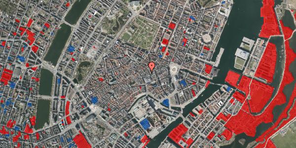 Jordforureningskort på Silkegade 15, 1. mf, 1113 København K