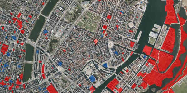 Jordforureningskort på Silkegade 17, 1. tv, 1113 København K