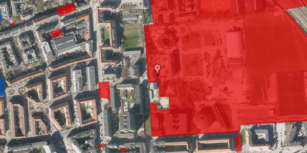 Jordforureningskort på Sionsgade 5B, 2100 København Ø