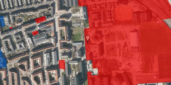 Jordforureningskort på Sionsgade 5C, 1. th, 2100 København Ø
