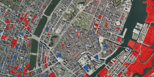 Jordforureningskort på Skindergade 2C, 4. tv, 1159 København K