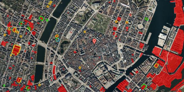 Jordforureningskort på Skindergade 3, 1. tv, 1159 København K
