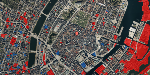 Jordforureningskort på Skindergade 3, 2. tv, 1159 København K