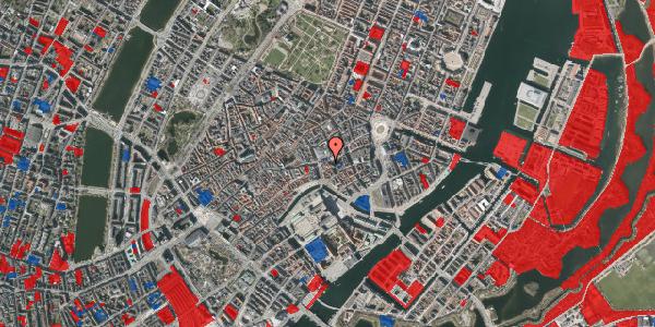 Jordforureningskort på Store Kirkestræde 1, st. 3, 1073 København K