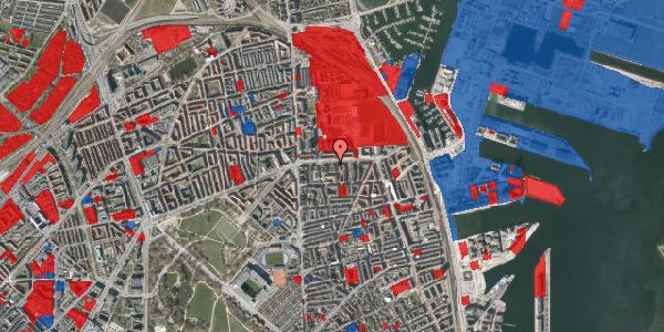 Jordforureningskort på Strandboulevarden 137, 3. tv, 2100 København Ø