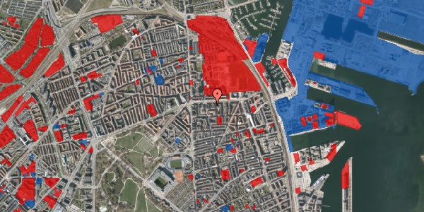 Jordforureningskort på Strandboulevarden 139, 1. th, 2100 København Ø