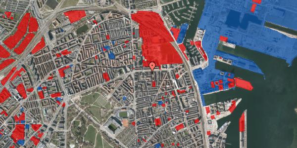 Jordforureningskort på Strandboulevarden 139, 3. tv, 2100 København Ø