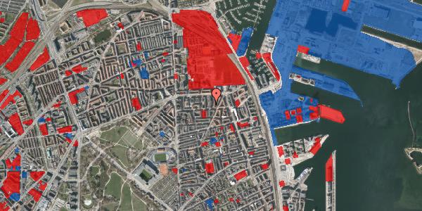 Jordforureningskort på Svendborggade 1, 3. 42, 2100 København Ø