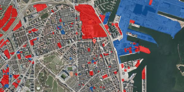 Jordforureningskort på Svendborggade 1, 5. 80, 2100 København Ø