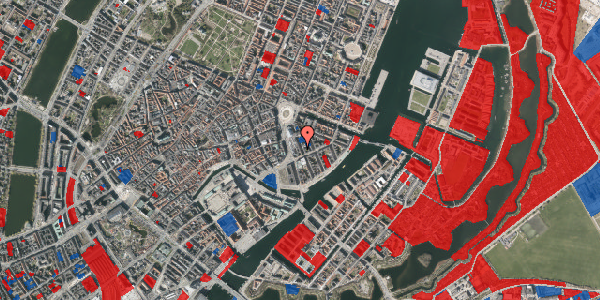 Jordforureningskort på Tordenskjoldsgade 14, 3. tv, 1055 København K