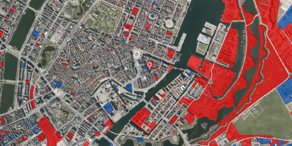 Jordforureningskort på Tordenskjoldsgade 19, 1. tv, 1055 København K