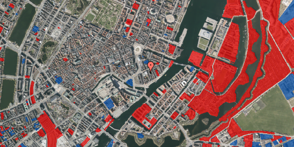Jordforureningskort på Tordenskjoldsgade 22, 3. th, 1055 København K