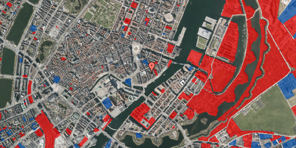 Jordforureningskort på Tordenskjoldsgade 25, 3. tv, 1055 København K