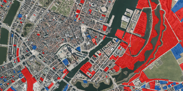Jordforureningskort på Tordenskjoldsgade 29, 1. tv, 1055 København K
