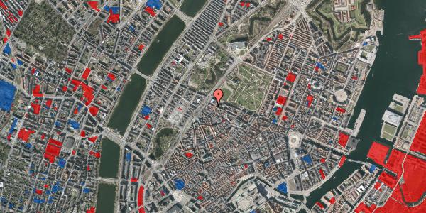 Jordforureningskort på Tornebuskegade 1, 3. tv, 1131 København K