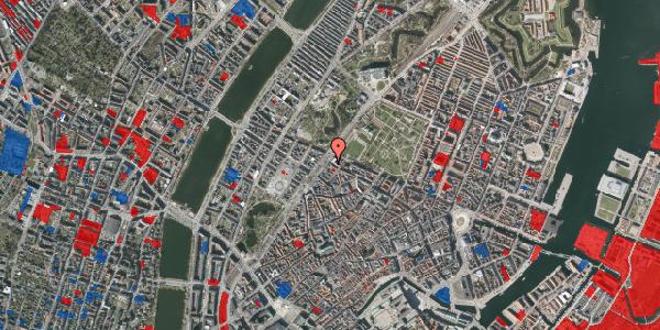 Jordforureningskort på Tornebuskegade 9, 1. tv, 1131 København K