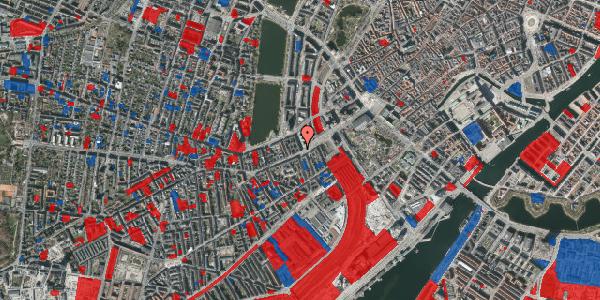 Jordforureningskort på Trommesalen 1, 1. 3, 1614 København V