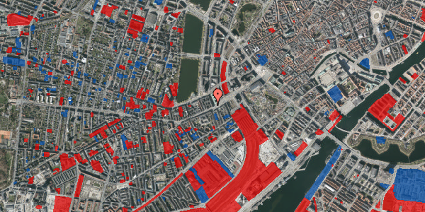 Jordforureningskort på Trommesalen 1, 3. 5, 1614 København V