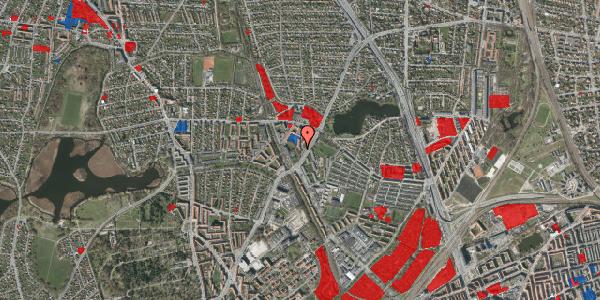 Jordforureningskort på Tuborgvej 166, st. , 2400 København NV