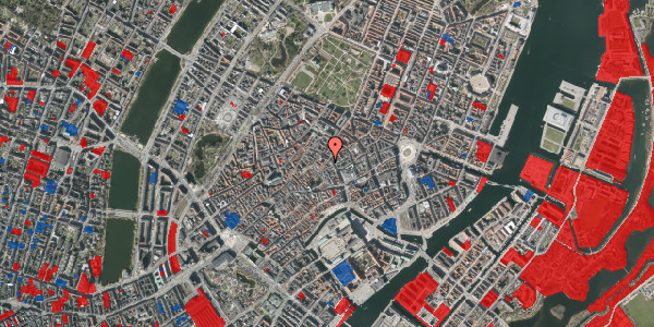 Jordforureningskort på Valkendorfsgade 5, st. tv, 1151 København K