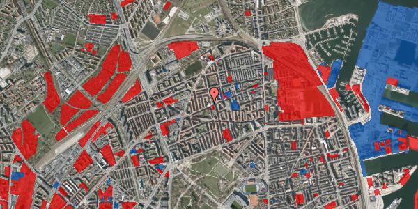 Jordforureningskort på Vennemindevej 39, 3. th, 2100 København Ø
