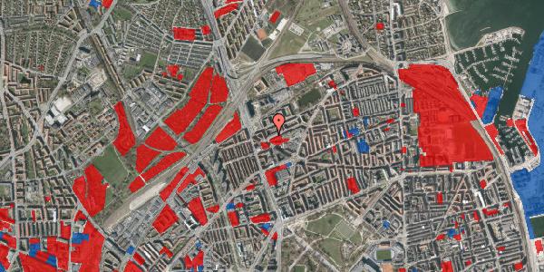 Jordforureningskort på Venøgade 5, 1. th, 2100 København Ø