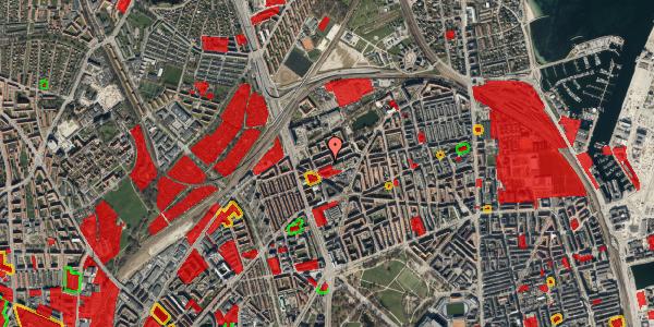 Jordforureningskort på Venøgade 11, 2. th, 2100 København Ø