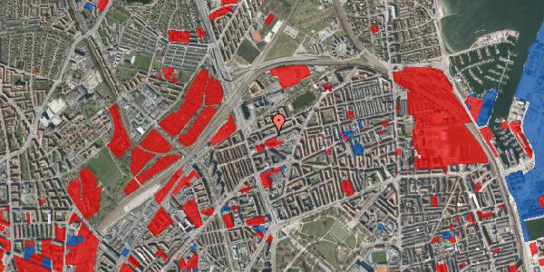 Jordforureningskort på Venøgade 11, 3. th, 2100 København Ø