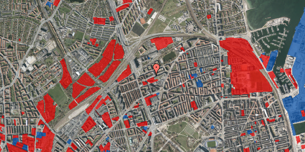 Jordforureningskort på Venøgade 13, 3. tv, 2100 København Ø