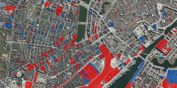 Jordforureningskort på Vesterbrogade 14B, 3. tv, 1620 København V