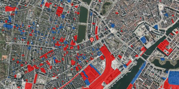 Jordforureningskort på Vesterbrogade 14, 3. tv, 1620 København V