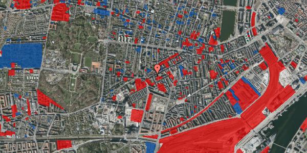 Jordforureningskort på Vesterbrogade 129, 5. 4, 1620 København V