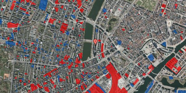 Jordforureningskort på Vester Søgade 18, 5. tv, 1601 København V