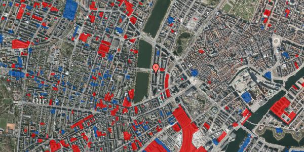 Jordforureningskort på Vester Søgade 22, 5. tv, 1601 København V