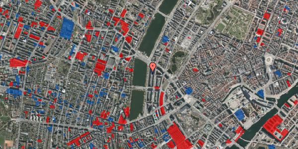 Jordforureningskort på Vester Søgade 62, 5. tv, 1601 København V