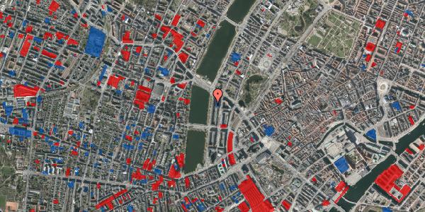 Jordforureningskort på Vester Søgade 64, 1. tv, 1601 København V