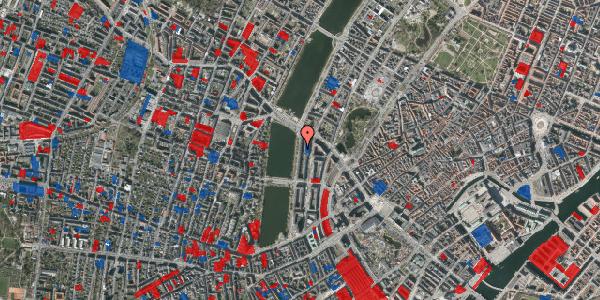 Jordforureningskort på Vester Søgade 66, 3. tv, 1601 København V