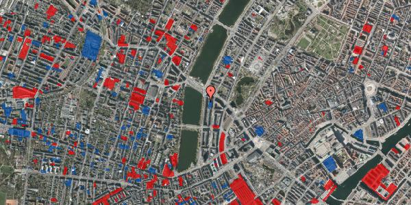 Jordforureningskort på Vester Søgade 70, 3. tv, 1601 København V