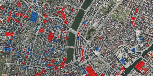 Jordforureningskort på Vester Søgade 70, 5. tv, 1601 København V