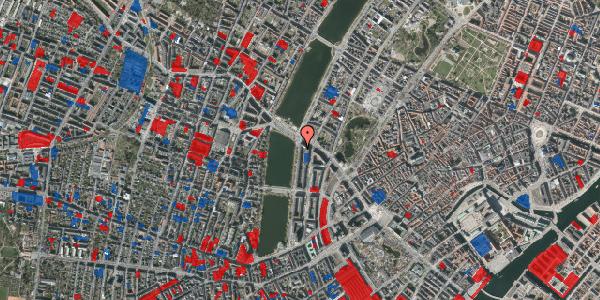 Jordforureningskort på Vester Søgade 74, 4. tv, 1601 København V