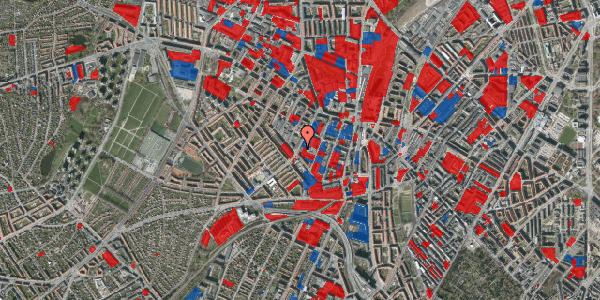 Jordforureningskort på Vibevej 33, st. , 2400 København NV