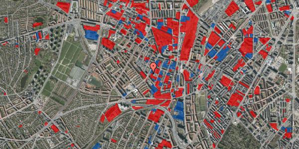 Jordforureningskort på Vibevej 33, 1. th, 2400 København NV