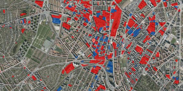 Jordforureningskort på Vibevej 35, 3. tv, 2400 København NV